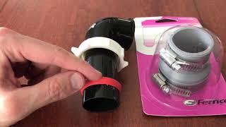 Plumber Hacks 101 - Rubber hose vs.  Slip Joint Nut - NO LEAKS!