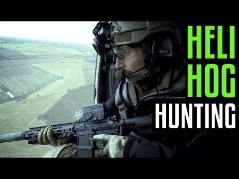 Heli Hog Hunting With Garand Thumb And Last Shadow