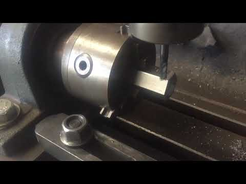 DIY CNC 4th Axis milling steel