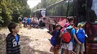 Erzsébet táborban a bugaci iskolások 2.