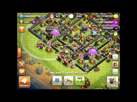 Clash of Clans - Wrecking People On The Ipad - Back In Master League