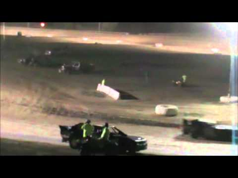 Street Stock Feature Muskingum County Speedway 07-13-2012