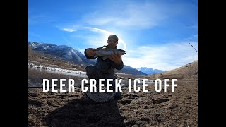 Ice Off at Deer Creek Reservoir
