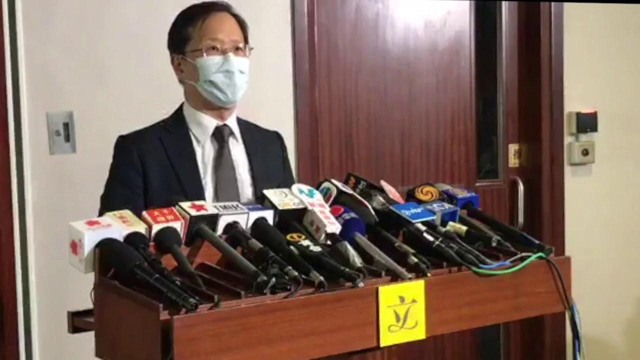 郭家麒回應林鄭仍拒「封大陸關」哽咽醫護付出斥:惺惺作態 - YouTube