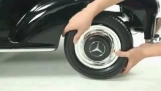 Купить детский электромобиль Mercedes Retro 65010 сборка(Детский электромобиль - супер новинка! Больше детских машин на сайте http://xn--e1atfhn.com.ua/detskiyi-transport/elektromobili.html?page=1., 2016-05-16T10:21:18.000Z)