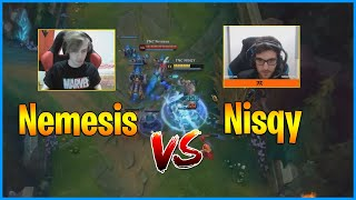 Old and New Fnatic Mid Laner Battle..Nemesis vs Nisqy...LoL Daily Moments Ep 1217