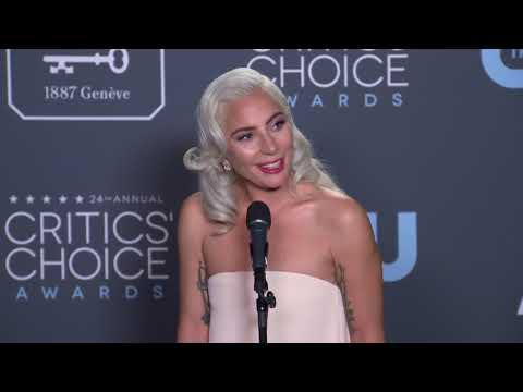 Lady Gaga - Critics' Choice Awards - Full Backstage Interview Mp3