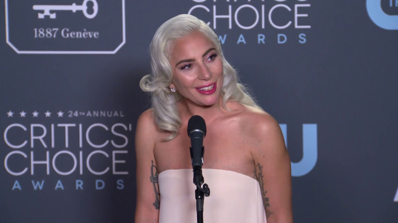 Lady Gaga - Critics' Choice Awards - Full Backstage Interview