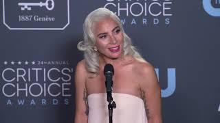 Lady Gaga - Critics' Choice Awards - Full Backstage Interview