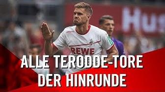 Alle TERODDE-TORE der Hinrunde 2018/19 | 1. FC Köln | Simon Terodde