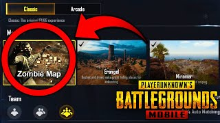 PUBG Mobile 0.11 Update *Zombie Map* is Here! - Zombie Mode Map ALL EXPLAINED!