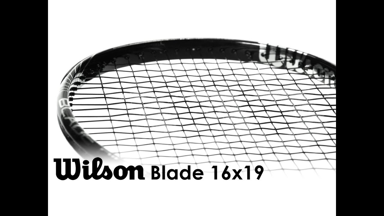 Wilson Blade 98 16x19 Racquet Review
