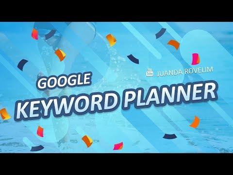 Cara daftar dan mengunakan Google keyword planner.