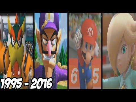 Mario Sport Games - All Intros ( 1995 - 2016 )
