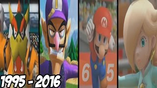 Mario Sport Games - All Intros ( 1995 - 2016 )