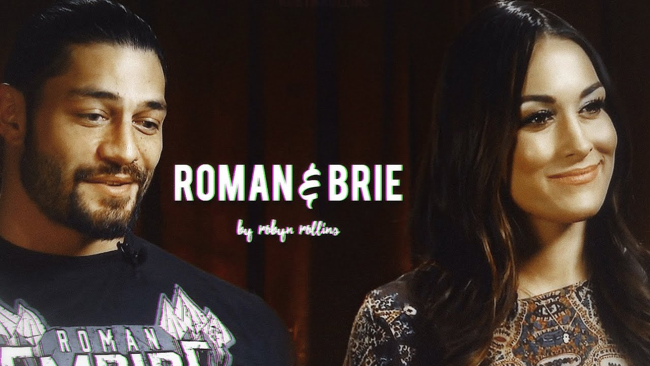 roman reigns & brie bella ~ on my own - YouTube
