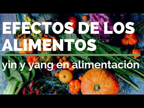 EFECTOS DE LOS ALIMENTOS: yin y yang en alimentación
