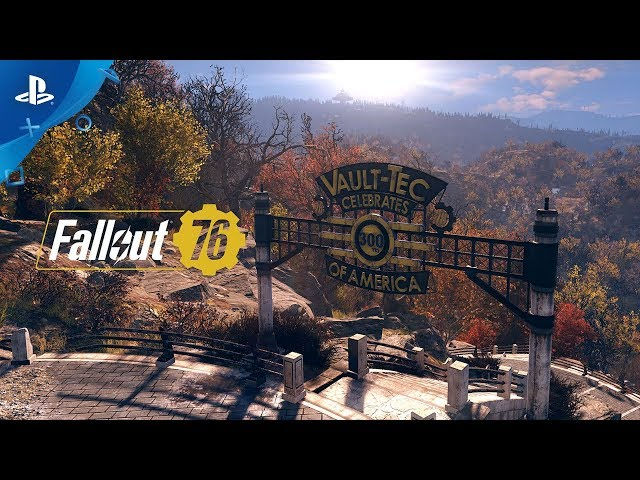Fallout 76 - Welcome to West Virginia Gameplay Video | PS4
