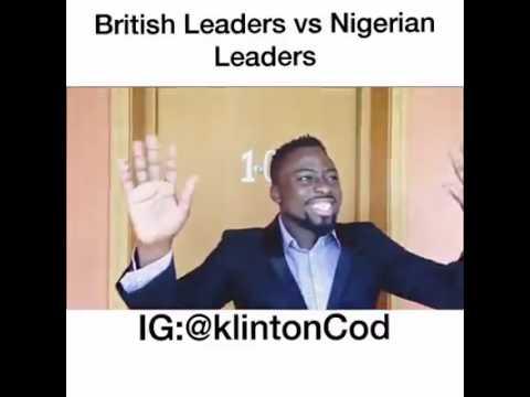 British leaders v Nigerian leaders - comedy lol