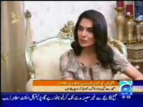 Meera giving a clasic interview to GEO