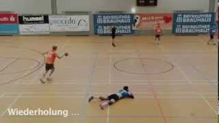 The worst handball simulation