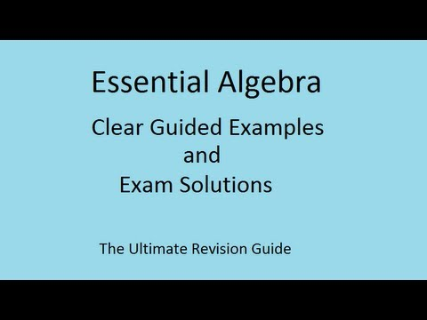 Solving linear equations easily with unknowns on both sides - GCSE ...