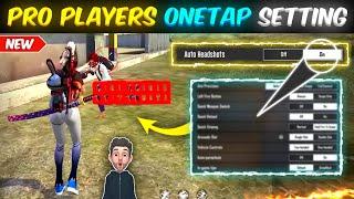 Free Fire Auto Headshot Setting After Update 😈   Pro Players Secret One Tap Headshot Setting screenshot 2