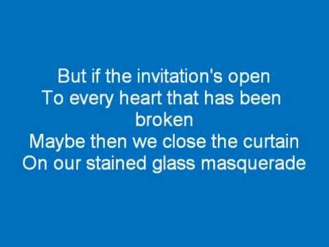Casting Crowns Stained glass masquerade lyrics