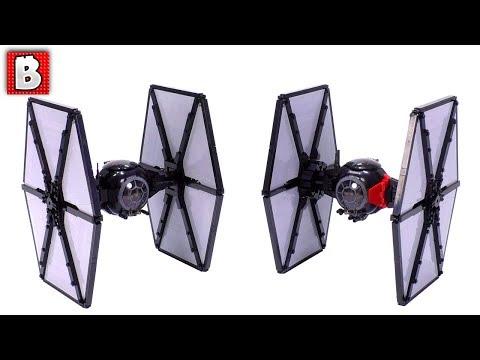 Super Detailed LEGO First Order TIE Fighter MOC! Star Wars Custom Build