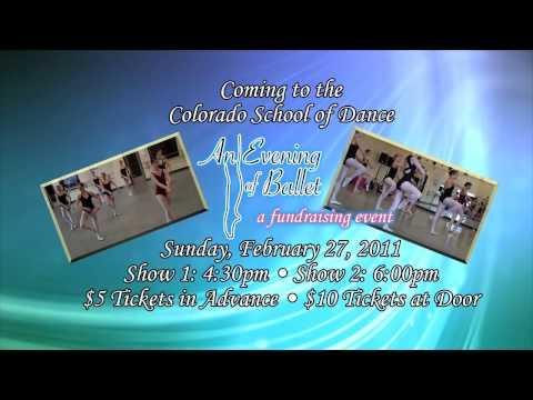 Veria  & Colorado School of Dance presents Evening of Ballet Promo  #1