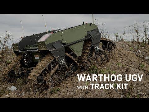 Warthog UGV with Quad-Track System