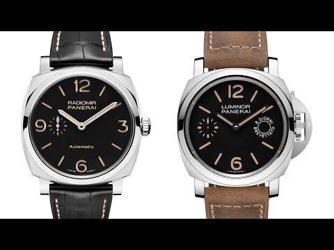 PANERAI – Radiomir or Luminor, which Panerai is right for you?