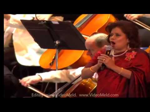 Patricia Rozario & David Cameron - God Save the Queen