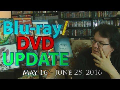 Blu-ray/DVD Update - May 16 - June 24, 2016