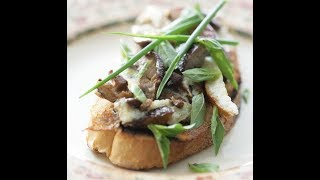Юлия Высоцкая — Омлет с грибами и куриной печенкой