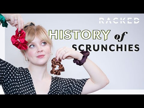 How Scrunchies Became Cool Again | History Of | Racked