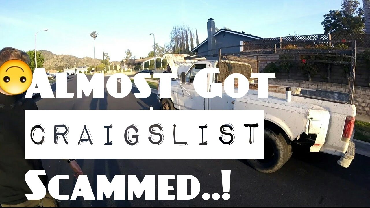 7 3 Diesel Craigslist Scam  !