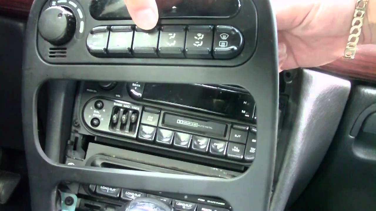 maxresdefault 300m radio removal youtube 2000 Chrysler 300M Wiring Diagram at bakdesigns.co
