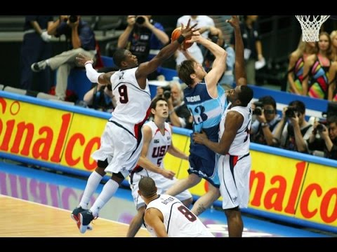 USA vs Argentina 2006 FIBA Basketball World Championship Bronze Medal Game FULL GAME