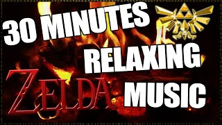 30 Minutes of Zelda Music For Relaxing, Studying
