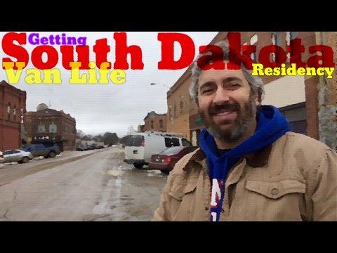 Van Life; Getting South Dakota Residency!