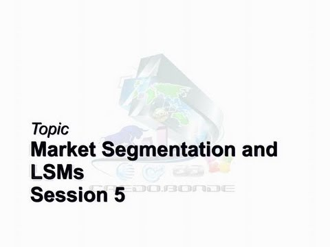 Credo Bonde Business Brief Session 5 Market Segmentation & LSMs