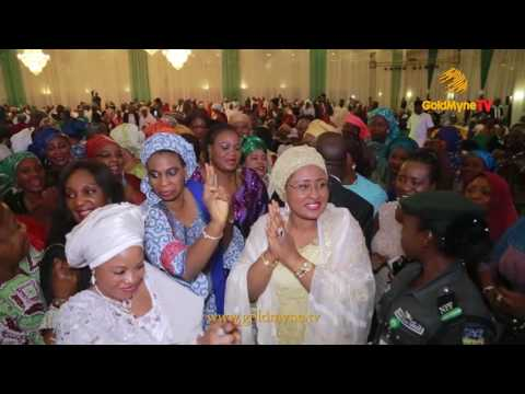 WATCH WIFE OF THE PRESIDENT, AISHA BUHARI DANCE TO FUJI MUSICIAN, #K1DeUltimate's MUSIC