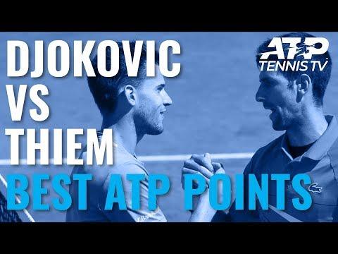 novak-djokovic-vs-dominic-thiem:-best-atp-shots-&-rallies!