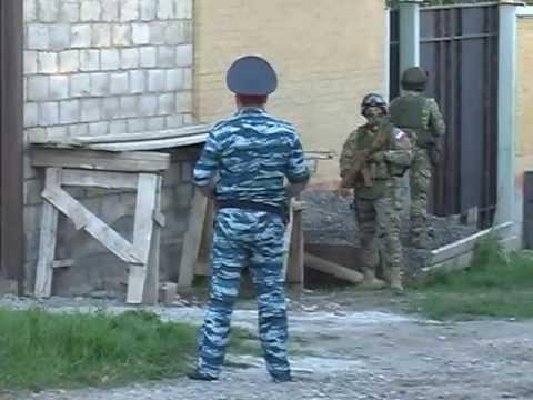 Спецоперация ФСБ и МВД РИ в Назрани 21.05.2013