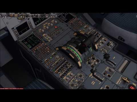 FSX - Dusseldorf to Munich - Part 1 (Cold Dark to Cruise) 9/6/17
