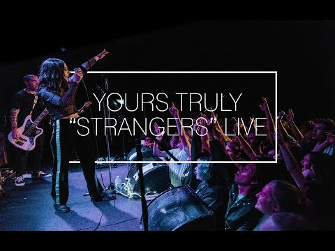 Yours Truly - 'Strangers' Live at The Metro Theatre