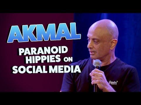 Akmal - Paranoid Hippies on Social Media