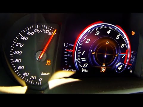 Corvette C7 Z06 Brutal Acceleration & SOUND