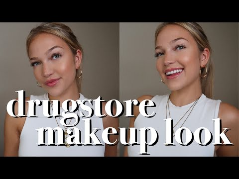 drugstore makeup look for back to school | maddie cidlik thumbnail
